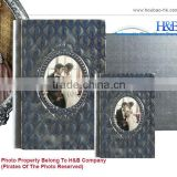 H&B new style personalized leather photo albums