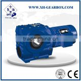 SA Hollow shaft SEW style's helical worm gear motor