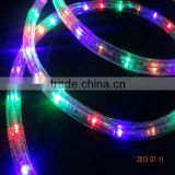 LS 3-wire led rope light red white blue led rope light