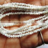 White Color Rough Diamond Bead NecklaceBest Buy In India