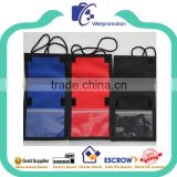 Wholesale neck wallet and passport holder with long strap