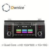 Ownice Quad core android 4.4 mulitmedia car player for BMW E39 M5 support TV OBD wifi DAB mirror link canbus