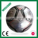 Branded metallic shine PVC soccer ball