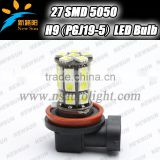 High Power Canbus design LED Bulb 3.6W Fog Driving Lights Headlight Bulb Lamp H8/H9/H11 5050 SMD H9 led auto light