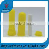 high quality aromatherapy inhalers, rainbow color blank nasal inhaler diffuser parts for filling essential oils