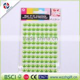 gem rhinestone sticker for decortion,price sticker printing machine