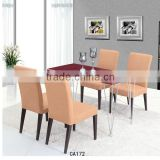 Wooden table chair Superior home furniture Modern dinner table set on sale CA172
