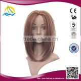 Special price high density mongolian hair lace front wig