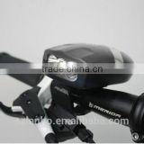 Multi-function Cycling Bicycle bike 3 LED Bright Front Head Light & Electric Horn Bell