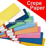 Color Crepe Paper For Gift/Promotion/Decoration/solid color wrapping paper