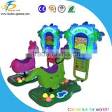 Coin operated game machine animal kids ride arcade game machine
