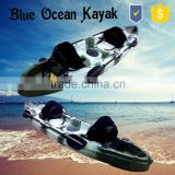 2015 hot sale Blue Ocean 2 person kayak sale/ocean fishing 2 person kayak sale/sit on top 2 person kayak sale