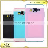 3 in 1 colorful fashionable cell phone cover for Sumsang A3/A5/A7