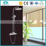 Wall mounted led rain shower set,with body jets and 16 inch top rain shower set