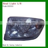 Hiace body parts #000310 hiace Headlights head lamp L+R Commuter Hiace 2000 commuter van