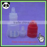 2ml high quality pe ecig oil needle bottle 3ml empty sample bottle dropper bottles with labels tamper evident cap