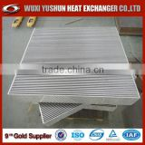 china supplier direct factory aluminum air radiator cooler core/ air cooler radiator/ air heat exchanger