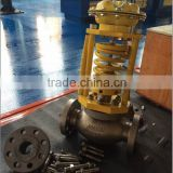Self actuated control valve