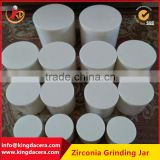 Super Polished zirconia ceramic pot for grinding nano powder