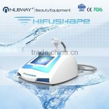 High Frequency Machine For Acne Portable Hifu Shape Ultrasound Fat Removal Slimming 0.1-2J Machine For Weight Loss And Body Shaping Portable