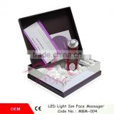 Face and Wrinkle Firming Fat Burning Body Double Photoelectric Effect Ultrasonic Beauty Massager
