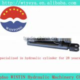 "hydraulic parts china manufacturer 1-5""bore 5-80""stroke small portable double acting Welded Hydraulic Cylinder"