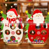 christmas wooden desk decoration ideas christmas arts and crafts