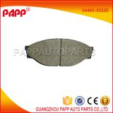 hot car ceramic toyota hilux brake pad for sales 04465-35220