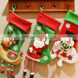 2016 snowman Christmas gifts Christmas stockings socks