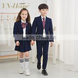latest dress designs unisex asian school uniform by clothing manufacturer