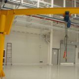 widely used Derricking jib crane with swivel facility up to 360 degree