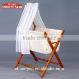 Convenient travel baby bed with cradle mosquito net folding children bed