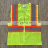 EN20471 Reflective Yellow Safety High Quality Jacket