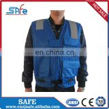 Promotional reflective work jacket for men