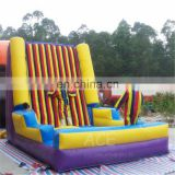 inflatable hooks & loops fastener wall, outdoor sport games equipment Inflatable Climb Sticky Wall