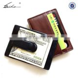 Leather/PU Money Clip, Money Clip Wallet