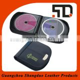Factory Cheap Price Handmade Easy Packing Leather CD Case
