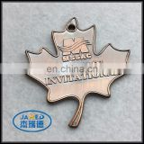 Promotional high quality button mapel leaf badge