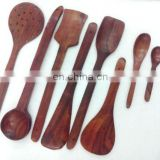 WOODEN 8 CUTLERY SET