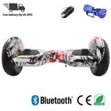 10 Inch Hoverboard M10 - Graffiti Black White - iHoverboard.co.uk