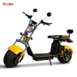 EEC COC approval citycoco electric scooter with seat for Europe market