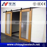 Double glazed Aluminum alloy automatic glass garage door