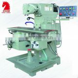 XQ6232 universal swivel head milling machine cross slide table
