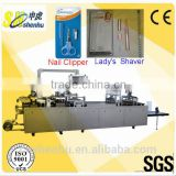 Multifunctional Nail Clipper Cosmetic Items and Lady's Shaver Blister Packing Machine
