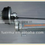 1.8t rubber torsion axle with mechanical brake