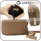 Wholesale High Quality Genuine Saffiano Leather Lady Small HandBag Clutch Bags Shoulder Bag for women