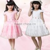 short sleeved summer girl dresses children Princess Dress skirts dress clothing