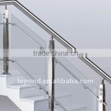 indoor glass stair railings