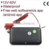 Waterproof GPS Car Tracker with 12-60V Power Supply and FREE GPS Tracking Software APP