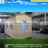 20ft mobile container summer house/prefabricated modern modular homes/export tiny prefab houses